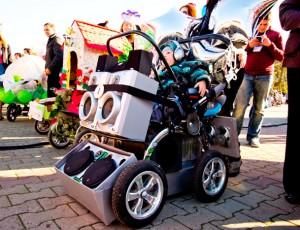 Парад колясок в Темрюке 2013. Фото Виталия Лозы.