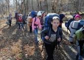 Темрюкские школьники прошли 30 км по сложному трехдневному маршруту