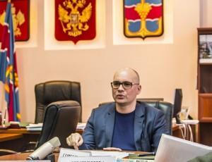 Сергей Робилко - и.о. главы Темрюкского района