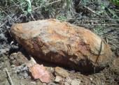 В Темрюке обнаружили еще одну бомбу времен ВОВ