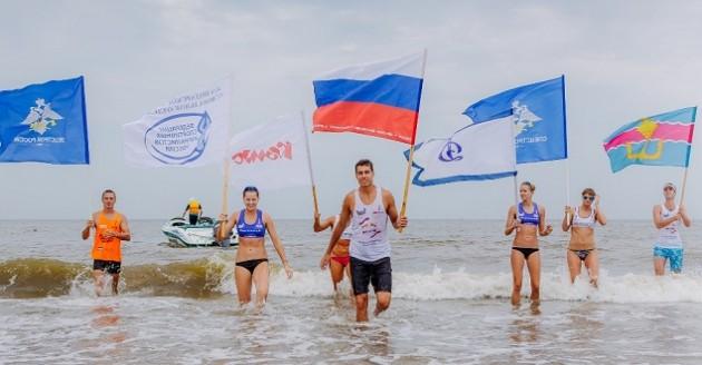 Волейбол в Голуюицкой. Фото Кубанскийспорт.ру