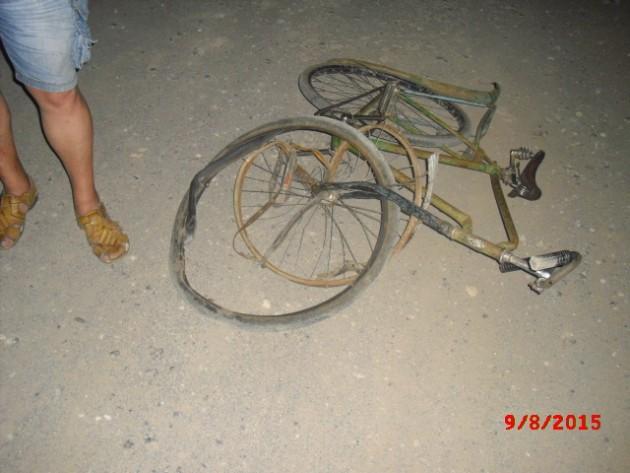 повреждения велосипеда