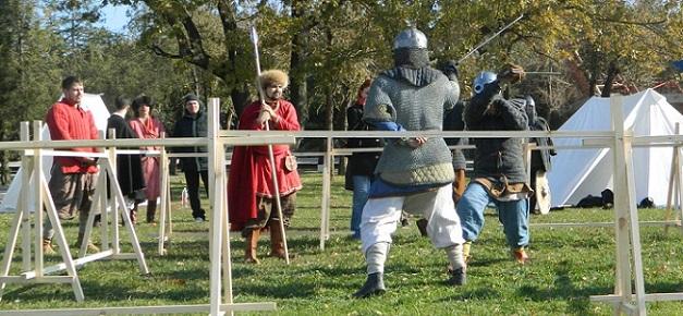 Тмутараканский вызов, рыцари, средневековые бои