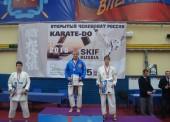Темрючане приняли участие в Чемпионате по карате в Сантк-Петербурге