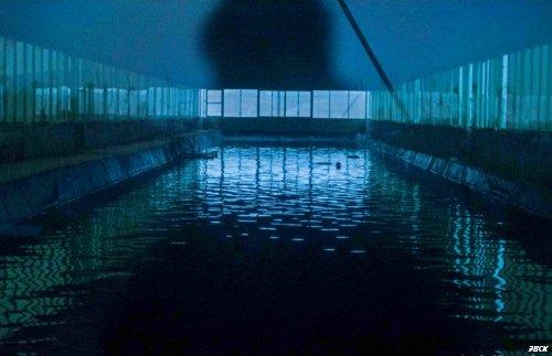 Силосная яма переоборудована под бассейн