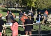 В Темрюке прошел турнир по историческому фехтованию