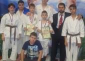 Каратисты из Темрюкского района привезли дюжину медалей с первенства кубка Краснодарского края