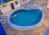 """Открытый бассейн с подогревом появился в сауне """"Бунис"""""""