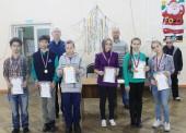 Юные темрючане приняли участие в новогоднем турнире по шахматам