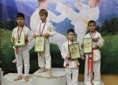 Юные темрючане приняли участие в краевых соревнованиях по каратэ