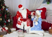 Дед мороз и снегурочка на дом по Темрюку и району