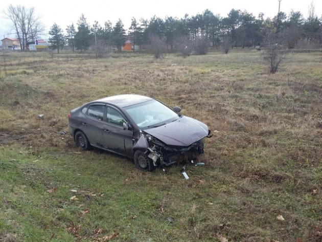 Повреждения авто Хюндай