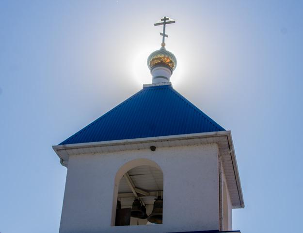 Купол, церковь, храм, колокола, крест