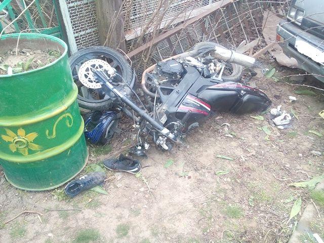повреж - я мотоцикла стелс