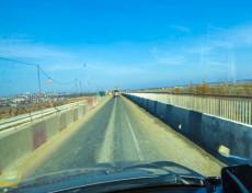 Ремонт моста в Темрюке