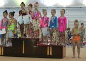 """В открывшемся спорткомплексе """"Скиф"""" прошли соревнования по художественной гимнастике"""