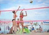 В Голубицкой прошел турнир по пляжному волейболу