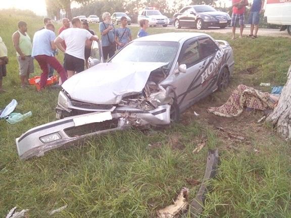 повреждения Хонда