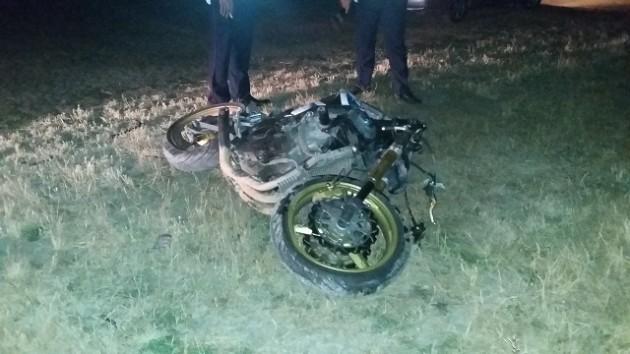 повреждения мотоцикла 2