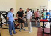Зал для занятий тяжелой атлетикой открылся в Темрюке