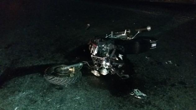 повреждения мотоцикла Хонда
