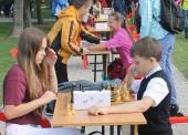 В парке Темрюка прошел турнир по быстрым шахматам