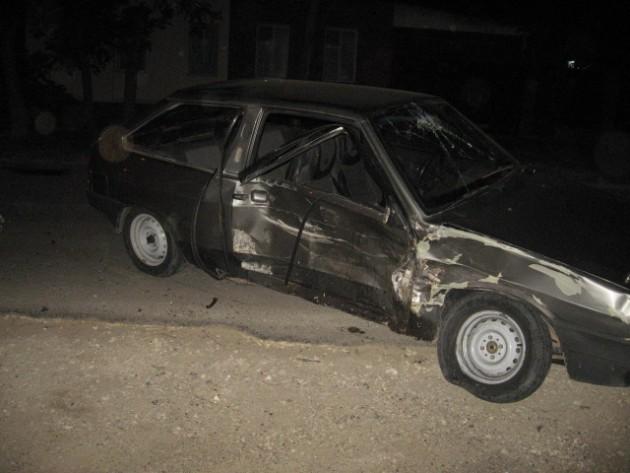 повреждения ВАЗ-2108