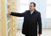 Губернатор Кубани посетил социальные объекты в станице Старотитаровской