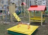В Темрюке установили пять новых детских площадок