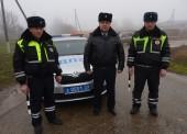 В Темрюкском районе экипаж ДПС задержал грабителей