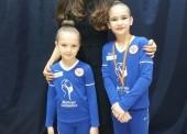 Юные гимнастки из Тамани выступили на соревнованиях в Московской области