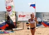 В станице Голубицкой прошел турнир по пляжному волейболу, посвященный Всероссийскому олимпийскому дню