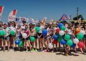 На турнире Energy Volley в Темрюкском районе прошел благотворительный матч «Чемпионы — детям»