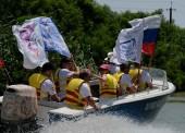 Спортивные журналисты Кубани отметили профессиональный праздник в Темрюкском районе гребной регатой «Зеленая миля»