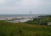 Голубицкая - поднялся уровень моря.