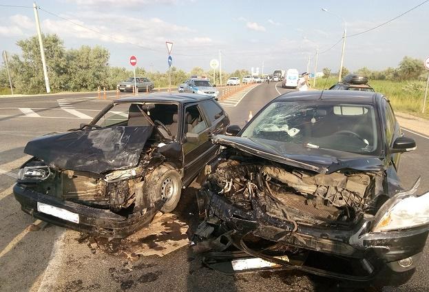 повреждения двух авто