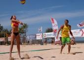 Турнир по пляжному волейболу в честь Дня флага России прошел в Темрюкском районе