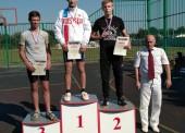 Юноша из Темрюка занял второе место на краевых соревнованиях по гиревому спорту
