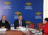 Заместитель начальника ГУ МВД России по Краснодарскому краю провел приём граждан в Темрюке