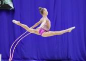 Юные гимнатски из Темрюка приняли участие в соревнованиях на Кубок губернатора Кубани