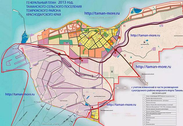 будущий порт Тамань