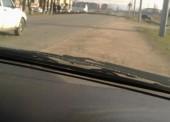 В Правобережном на дорогу рухнул тополь