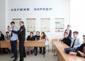 Темрюкские полицейские совместно с общественниками провели занятия по профессиональной подготовке для студентов