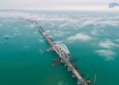 Из-за строительства моста в Крым в Керченском проливе ученые проводят масштабные исследования