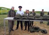 Темрюкские полицейские и общественники организовали для студентов стрельбы на полигоне войсковой части
