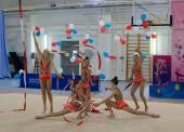В Темрюке состоялось первенство района по художественной гимнастике
