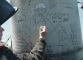 Последнюю сваю ЖД моста в Крым погрузили строители