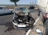 Три ДТП с четырьмя пострадавшими произошли в Темрюкском районе за неделю