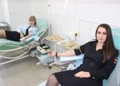 Сотрудники Темрюкской полиции сдали кровь нуждающимся