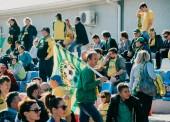 На стадионе в Темрюке состоялся футбольный матч Кубка губернатора Краснодарского края